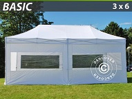 Buy Portable pop up party tent 3 x 6 m Steel