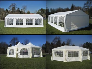 party tent for wedding, celebration, reception and party
