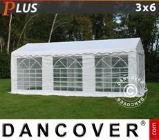 Party tent 3x6 m PE, White