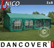 Party tent 5x8 m, Dark Green