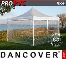 Party tent 4x4 m Clear, incl. 4 sidewalls