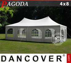 Party tent 4x8m, Off-White