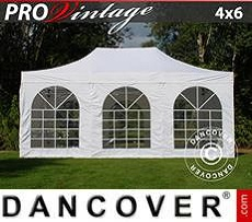Party tent 4x6 m White, incl. 8 sidewalls