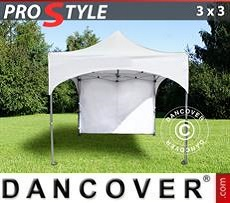 Party tent 3x3 m White, incl. 4 sidewalls