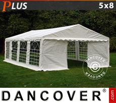 Party tent 5x8 m PE, White