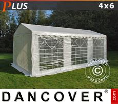 Party tent 4x6 m PE, White