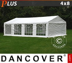 Party tent 4x8 m PE, White