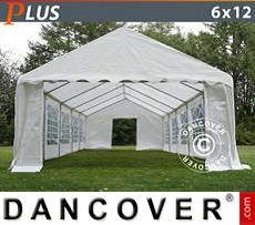Party tent 6x12 m PE, White