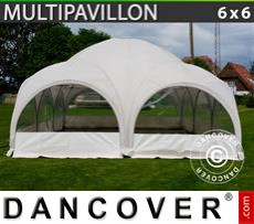 Party tent 6x6 m, White