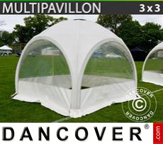 Party tent 3x3 m, White