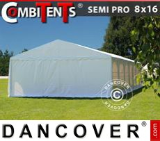 Party tent 8x16 (2.6) m 6-in-1, White