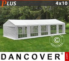 Party tent 4x10 m PE, White
