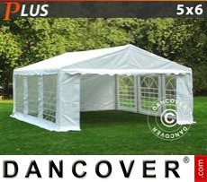 Party tent 5x6 m PE, White