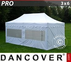 Party tent 3x6 m White, incl. 6 sidewalls