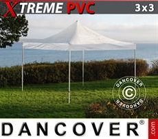 Party tent 3x3 m Clear