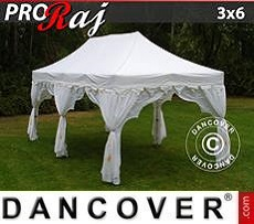 Party tent 3x6 m White/Gold